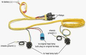 vw pickup brighter headlights pictured above is a 9004 style switched power harness but its very similar to the h4 harness i used the blue connector looks like the back of a headlight