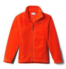 Columbia Boys Toddler Steens Mt Ii Fleece Jacket State Orange 4t
