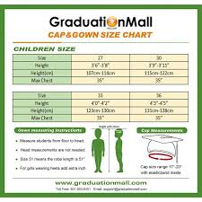 Cap And Gown Measurement Chart Graduation Cap Size Chart Related Keywords Suggestions