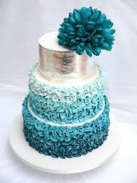 Beautiful Cakes With Gold Silver Pearls And Glitters