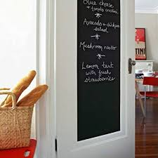A Houseables Chalkboard Wall Sticker Blackboard Vinyl Sheet 200 X 45 Cm  79u0026quot