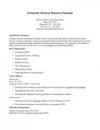 Technical Skills In Resume For Cse Freshers Resume For Study