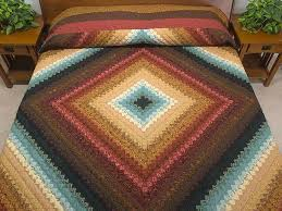 Postage St& Color Splash Quilt -- superb ably made Amish Quilts ... & Gold Red Brown and Teal Postage Stamp Color Splash King/Queen Size Bed Quilt  Photo ... Adamdwight.com