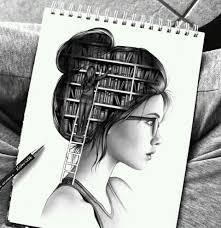 art book creative drawing mind