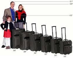 Helpful Rolling Luggage Size Comparison Chart Ebags