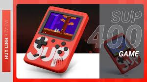 Máy chơi game 4 nút cầm tay Box Sup 400 Game IN 1 G4 Plus - GP400