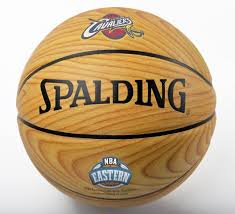 Wooden Basketball Game BigTimeBats Cavaliers Eastern Conference Champs Wood Grain 37