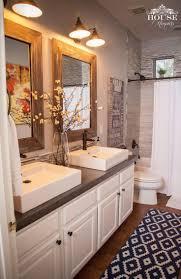 farmhouse bathroom ideas. DIY Concrete Farmhouse Bathroom Countertop Ideas