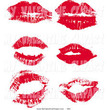 kisses clipart makeup 1