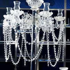 clear acrylic crystal garland bead chain strands wedding pertaining to preferred faux crystal chandelier wedding bead