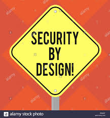 Road Foundation Design Handwriting Text Writing Security By Design Concept Meaning