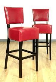 red leather bar stools. Red Leather Bar Stools With Back Medium Size Of .