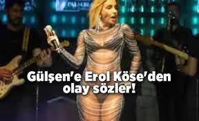"""Gülşen'in sahne kıyafetine Erol Köse'den eleştiri: """"Maske mühim tabi!  Nereye takılacağı da!"""""""