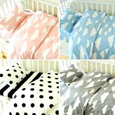cloud crib bedding 4 styles blue clouds baby bedding set set cotton crib bedding set for