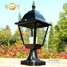 lamp post fixture exterior lamp post fixtures outdoor lamp post fixtures s outdoor solar post lighting