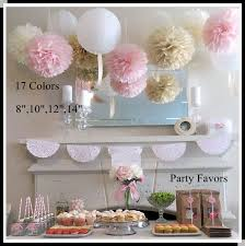 diy 10   25 cm  decorative tissue paper pom poms flower ball for baby