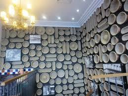 Paul Broadway: Interior wall decor of the restaurant