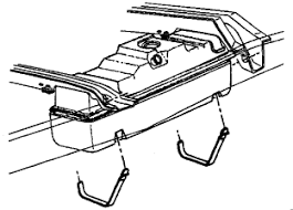 how to replace a fuel tank pressure sensor in a silverado? 2005 Chevy Cavalier Fuel Tank support the fuel tank and remove the tank straps and insulator strips, if equipped 2004 chevy cavalier fuel tank