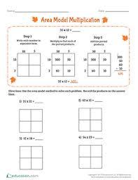 area model multiplication