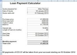 Creating A Loan Calculator