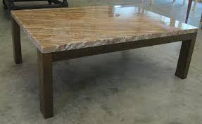 granite table top. Granite Top Coffee Table With Maple Base Front View. Holmes Fine Furniture