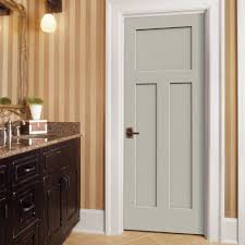 white interior door styles. Exquisite Craftsman Style Molding For Your Interior Decoration : Endearing Image Of Bathroom With Light White Door Styles