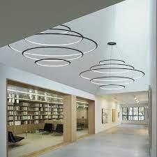 light ring chandelier led