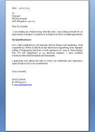 Resume Cover Letter For Freshers Okl Mindsprout Ideas Collection