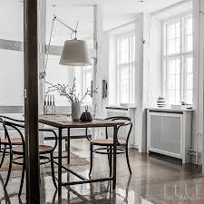dining room sets co uk. this whitewashed scheme, defined by glossy concrete floors, creates an airy aesthetic. the dining room sets co uk 6