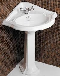 corner sink bathroom small pedestal sinks cabinet uk basin spaces