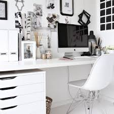 white office decors. stylish offices for the home white office decors e