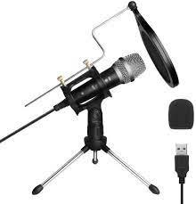 ARCHEER USB PC Mikrofon Computer Microfon Laptop Kondensatormikrofon Mic  Podcast Aufnahme Recording Microphone Standmikrofon für Gaming Musik Singen  Streaming YouTube Studio Skype: Amazon.de: Musikinstrumente