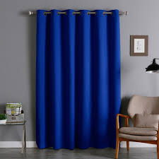 aurora home extra wide thermal 96 inch blackout curtain panel 100 x 96 free today com 13515816