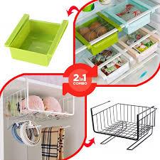 refrigerator racks. combo of refrigerator racks and under shelf e