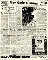 Kingston Gleaner Newspaper Archives, May 5, 1983, p. 1