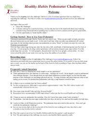 Http Www Calvin Edu Academic Pe Healthyhabits Challenges