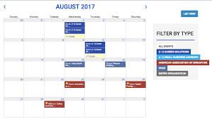 event calendar using the events calendar help files tendenci the open