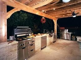 cost to build outdoor kitchen budget kitchens contractors