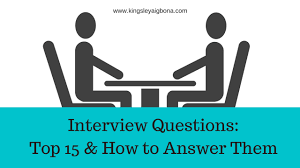 interview questions top how to answer them