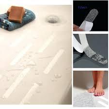 bathtub no slip strips anti slip bath grip stickers clear non slip flooring safety bath tub bathtub no slip strips non