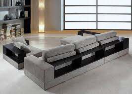 fabric sectional sofas. Soflex Denver Ultra Modern Grey Fabric Sectional Sofa Set 2Pcs SPECIAL ORDER Order Online Sofas