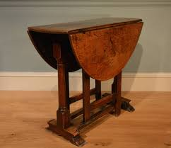 Norden Gateleg Table Small Late 17th Century Oak Gate Leg Table Drop Leaf Table Th