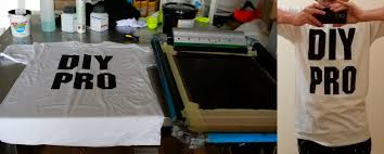 part 6 screen printing the design on t shirt