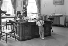 jfk in oval office.  Jfk President John F Kennedy And Caroline In Oval Office On Jfk In JFK Library