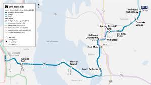 Link Light Rail Expansion Sound Transits East Link Light Rail Construction More Than