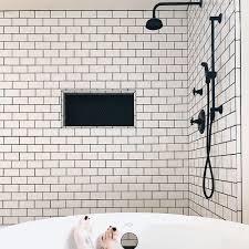 Image Grey Grout Black Grout With White Tile Bedrosians Shout Out To Grout Bedrosians Tile Stone