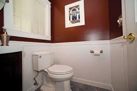 install bathroom. Installing Wainscot In A Powder Bath Install Bathroom