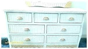 Winsome Henry Link Wicker Bedroom Set Furniture For Sale White Pier ...