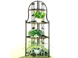 3 tier outdoor wooden plant stand metal stands iron for