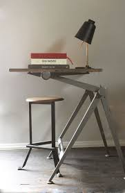 grain desk lamp friso kramer drafting table and angle stool blood champagne brendan